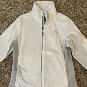 White North Face Osito Jacket